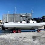 transport plovila iz marine kornati u dry marina biograd