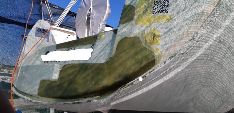 Popravak gelcoat-a by triM Nautica